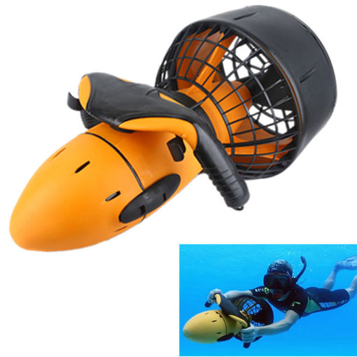 Picture of Waterproof 300W Electric Underwater Sea Scooter Dual Speed Propeller Drving Pool Rc Submarine Toy