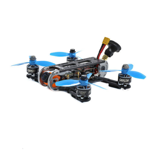Picture of Geprc Cygnet3 Pro 145mm FPV Racing Drone PNP BNF w/ Stable F4 1507 Motor Runcam Split Mini 2 1080P Camera