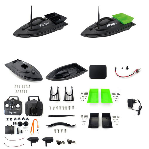 Picture of Flytec 2011-5 Generation Fishing Bait Rc Boat Kit Without Circuit Board Battery Motor Servo