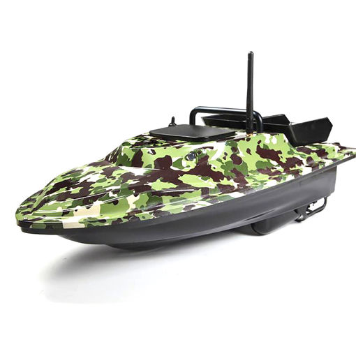 Picture of Flytec V007 Intelligent 500m Control Fishing Finder Bait RC Boat 4.8km/h Double Motor 54cm