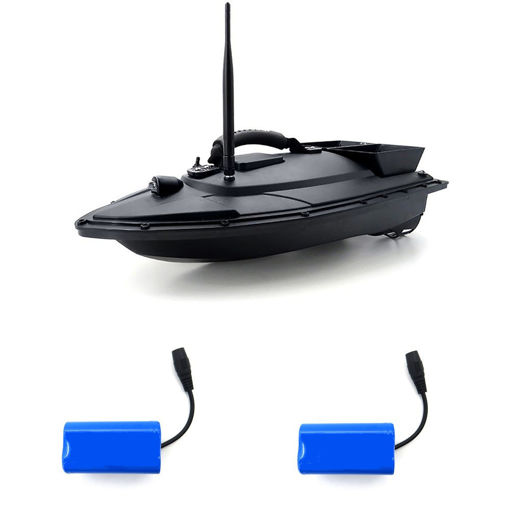 Picture of URUAV 2011-5 with 2 Batteries Fishing Bait RC Boat 500M Remote Fish Finder 5.4km/h Double Motor Toys