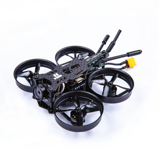 Picture of iFlight CineBee 75HD Black Version 2-3S Whoop RC FPV Racing Drone W/ SucceX mirco F4 12A 200mW Turtle V2 HD